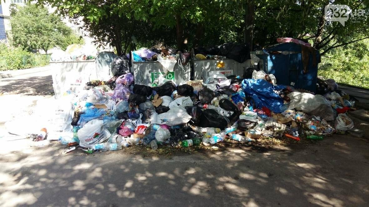 Cміттєві майданчики на вулиці Чукаріна, Сихів