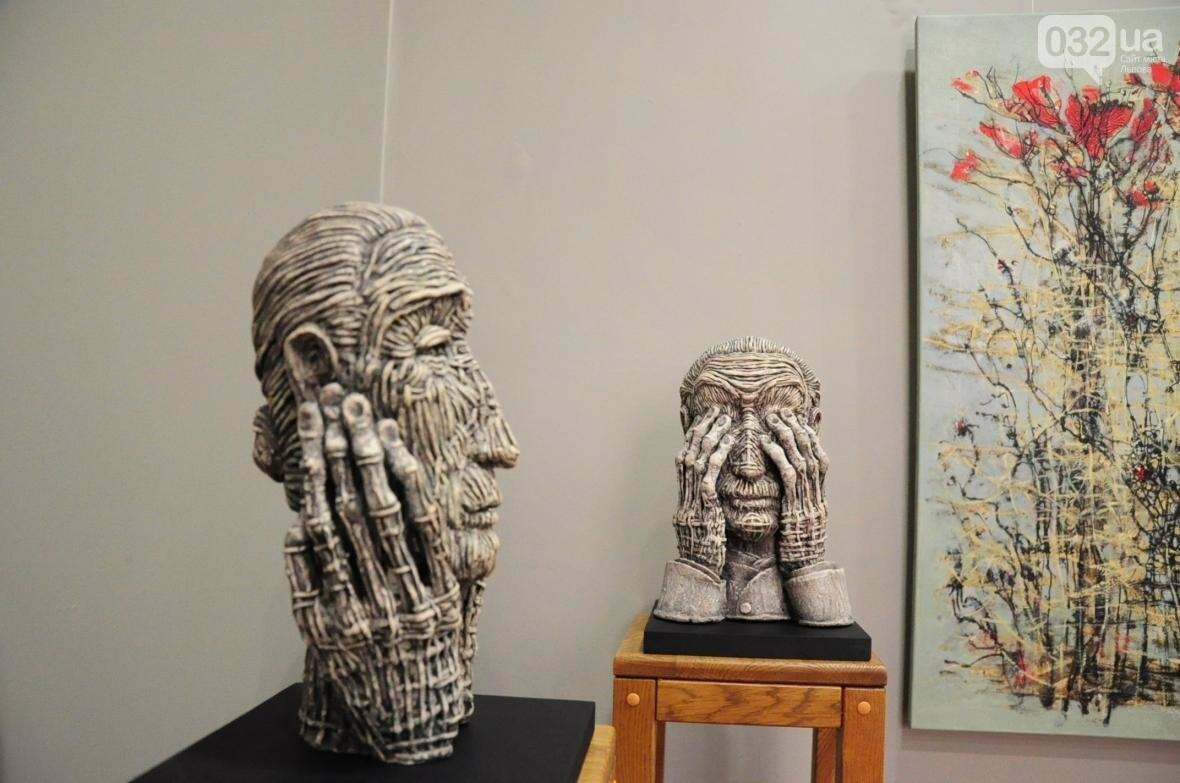 Емоції в скульптурі: у «Зеленій канапі» відкрили нову виставку (ФОТО), фото-8