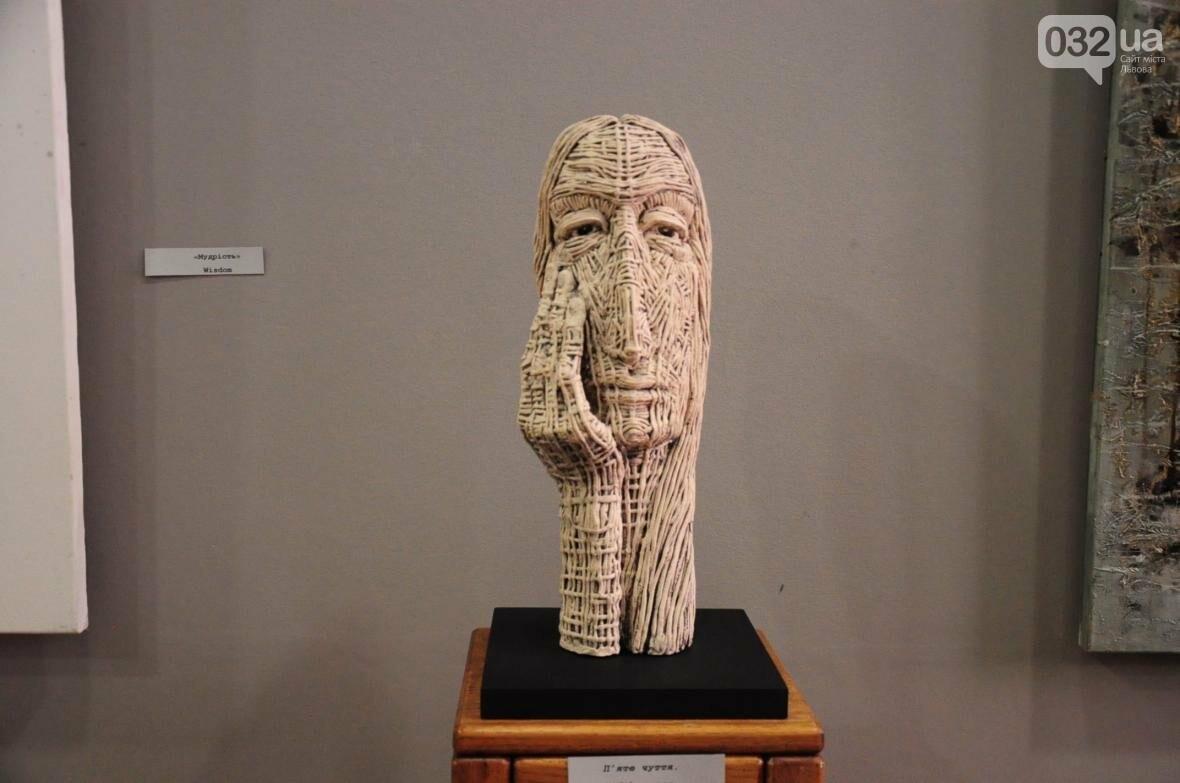 Емоції в скульптурі: у «Зеленій канапі» відкрили нову виставку (ФОТО), фото-1