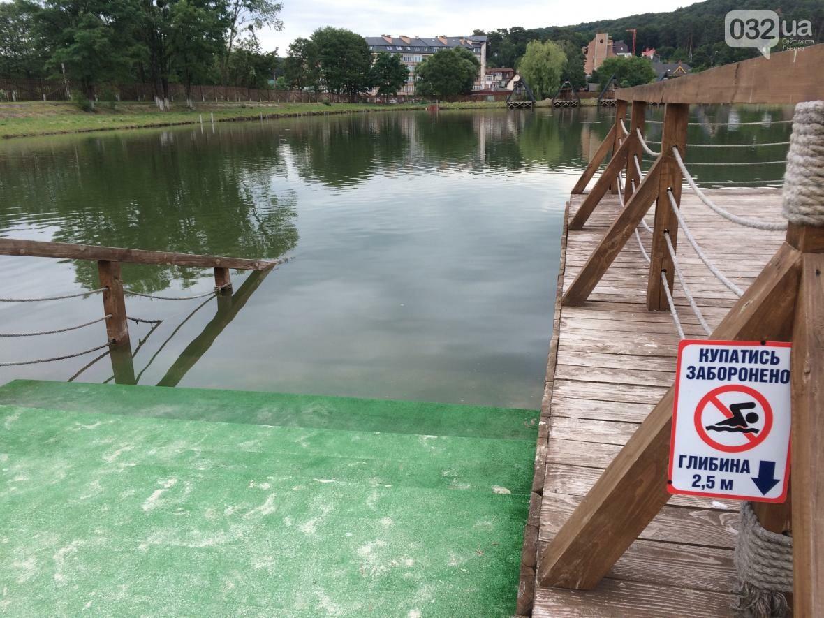 Тест-драйв озер поблизу Львова: їдемо на перше озеро, що в Брюховичах, фото-13