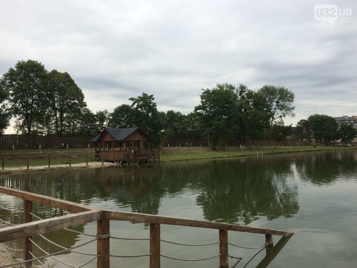 Тест-драйв озер поблизу Львова: їдемо на перше озеро, що в Брюховичах, фото-9