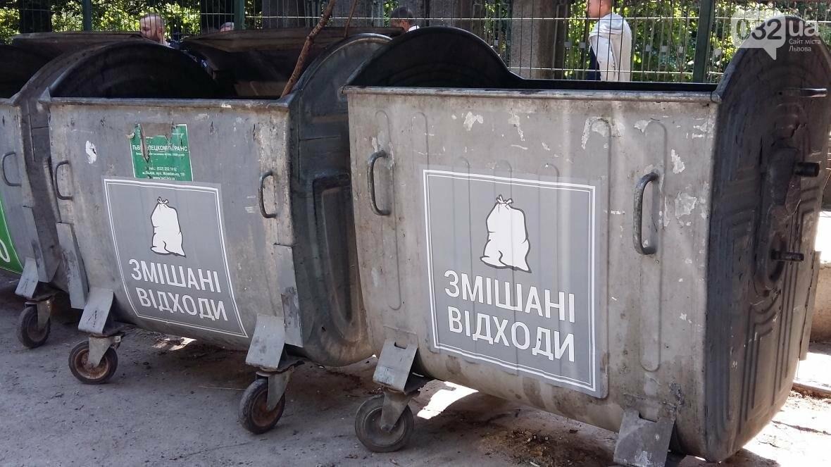 Систему сортування сміття почали впроваджувати на Сихові (ФОТО), фото-2