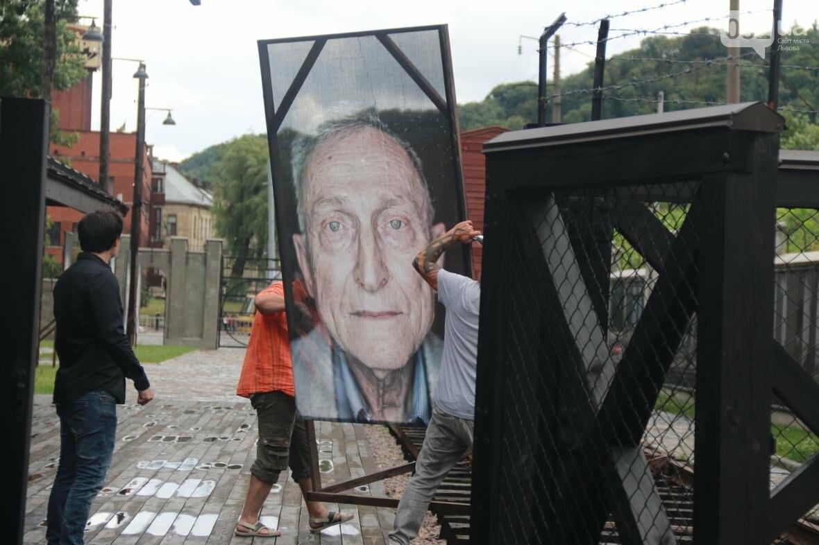 У Львові виставили портрети людей, що пережили Голокост (ФОТОРЕПОРТАЖ), фото-1