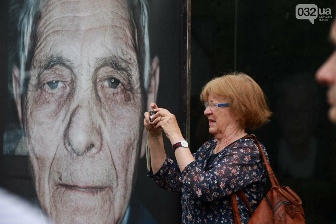 У Львові виставили портрети людей, що пережили Голокост (ФОТОРЕПОРТАЖ), фото-7