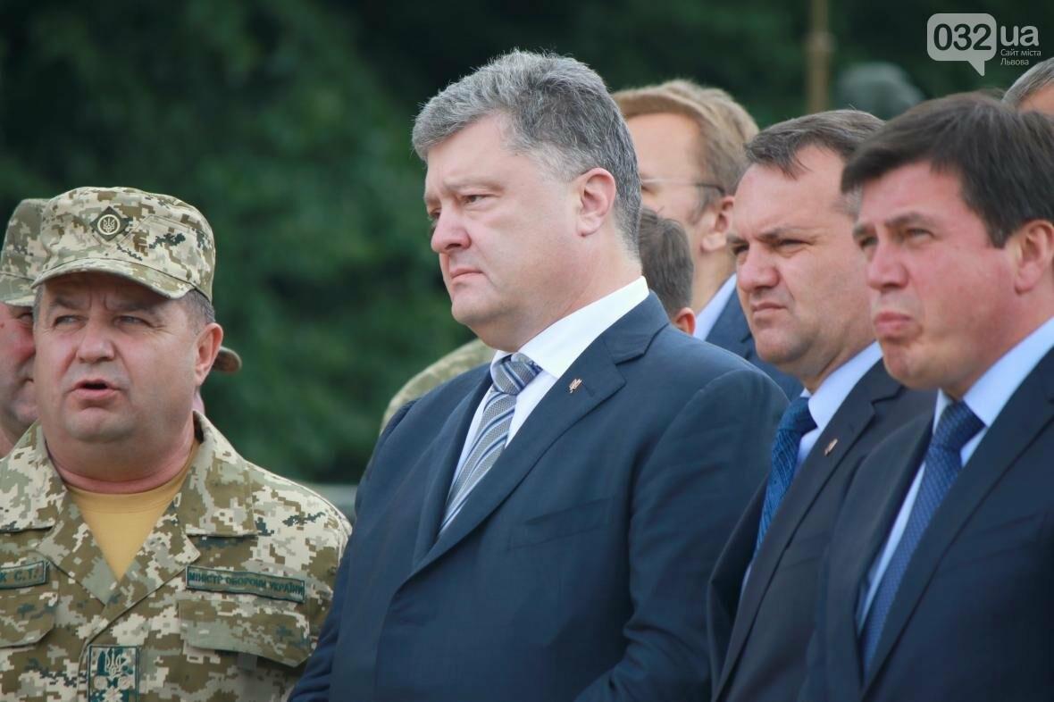 Робочий візит Порошенка до Львова у фотографіях , фото-1, Фото: Назар Юськів, 032.ua
