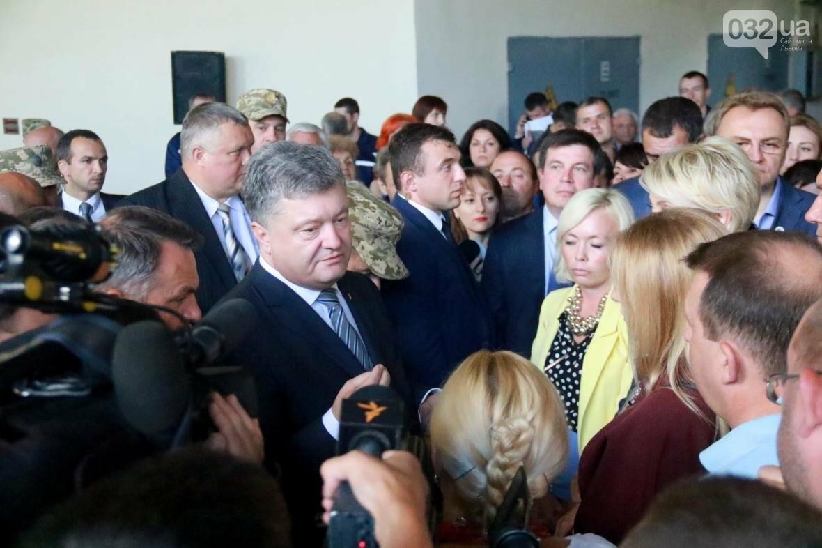 Робочий візит Порошенка до Львова у фотографіях , фото-9, Фото: Назар Юськів, 032.ua