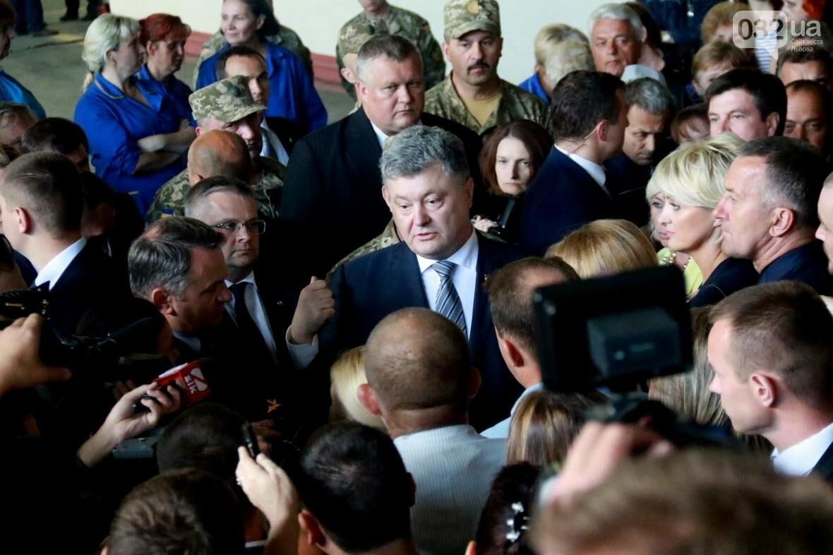 Робочий візит Порошенка до Львова у фотографіях , фото-7, Фото: Назар Юськів, 032.ua