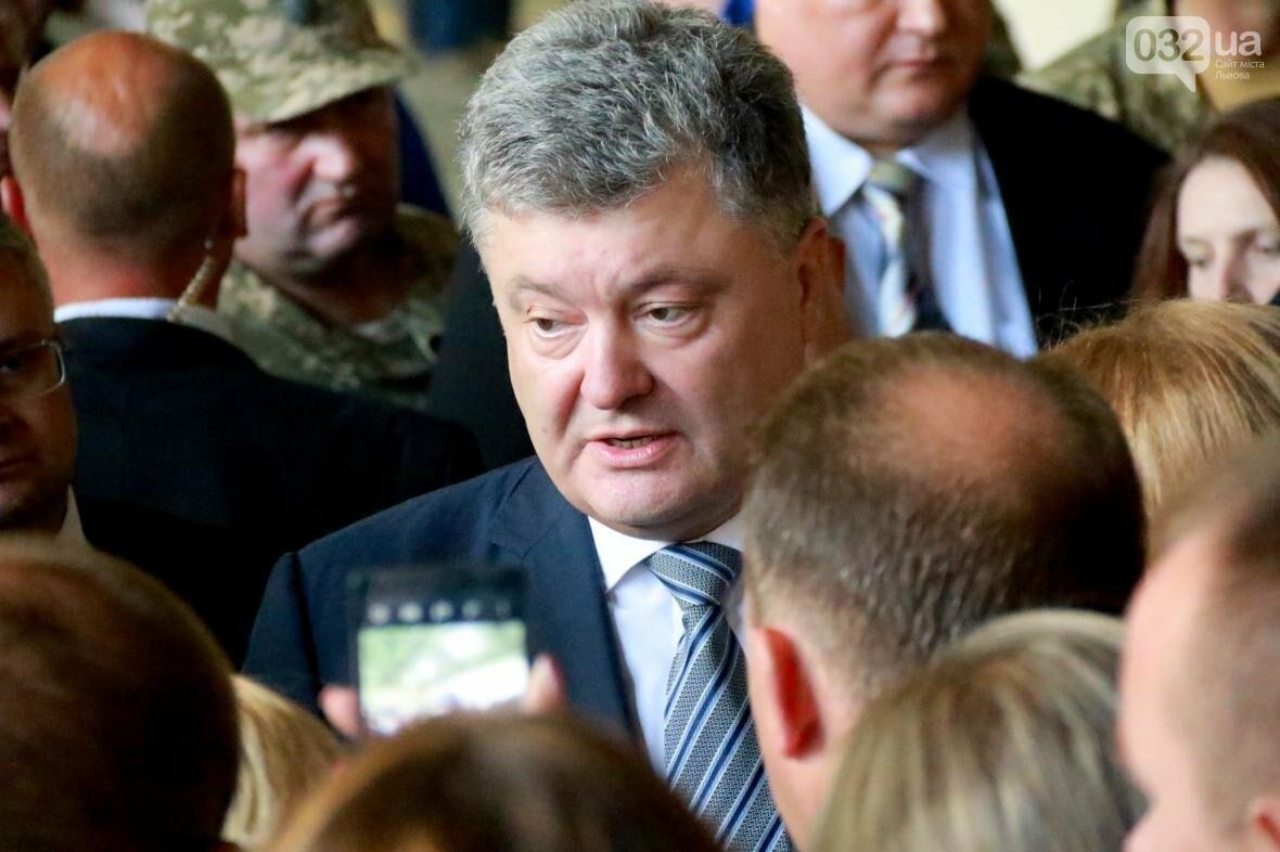 Робочий візит Порошенка до Львова у фотографіях , фото-10, Фото: Назар Юськів, 032.ua