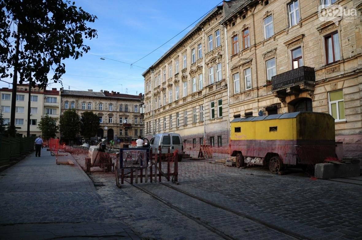 Як ремонтують перехрестя Личаківська — Мечникова (ФОТО), фото-2