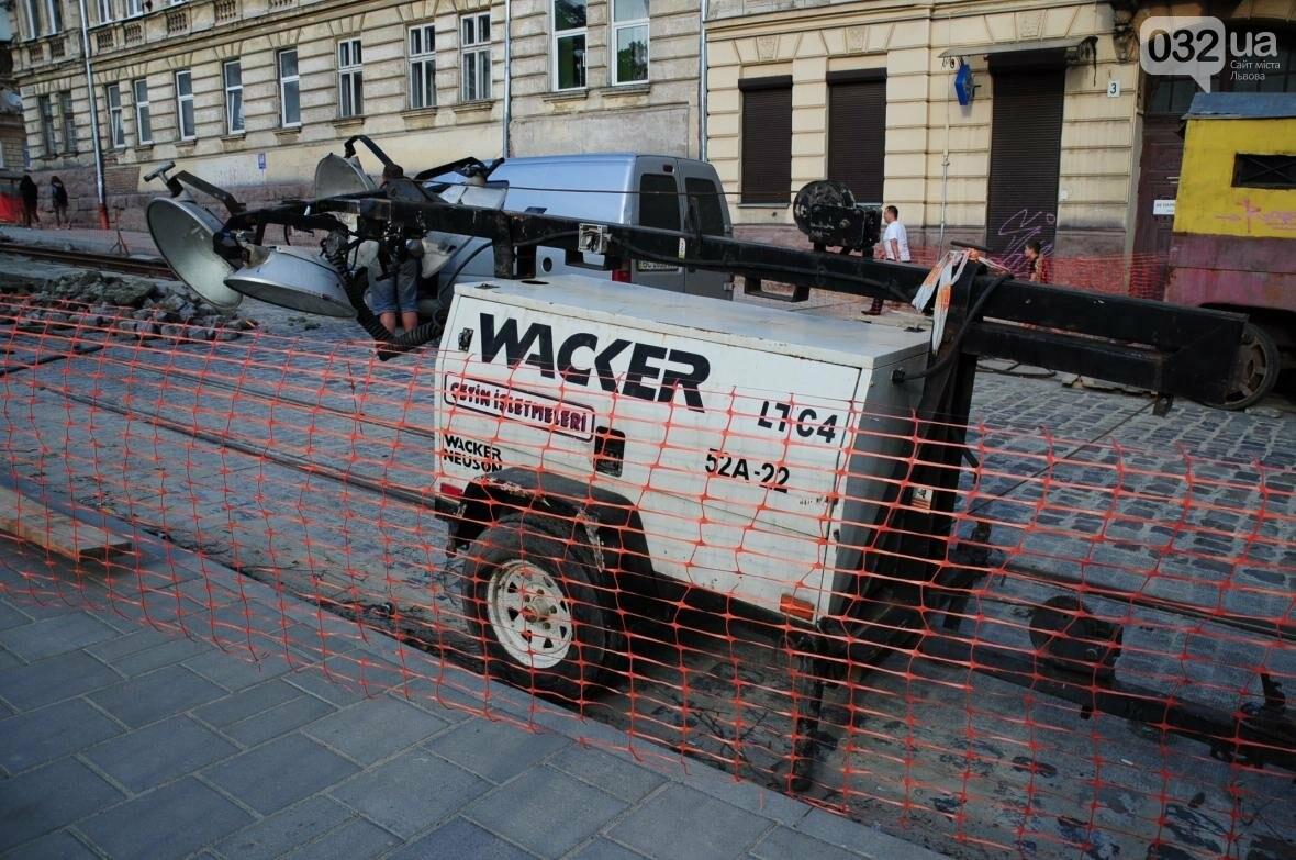 Як ремонтують перехрестя Личаківська — Мечникова (ФОТО), фото-8