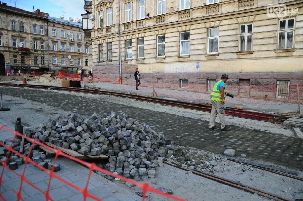 Як ремонтують перехрестя Личаківська — Мечникова (ФОТО), фото-12