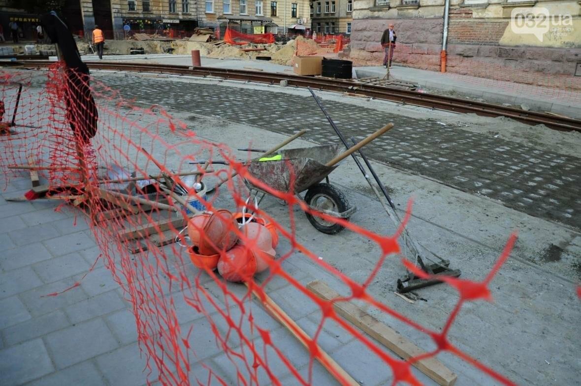 Як ремонтують перехрестя Личаківська — Мечникова (ФОТО), фото-4