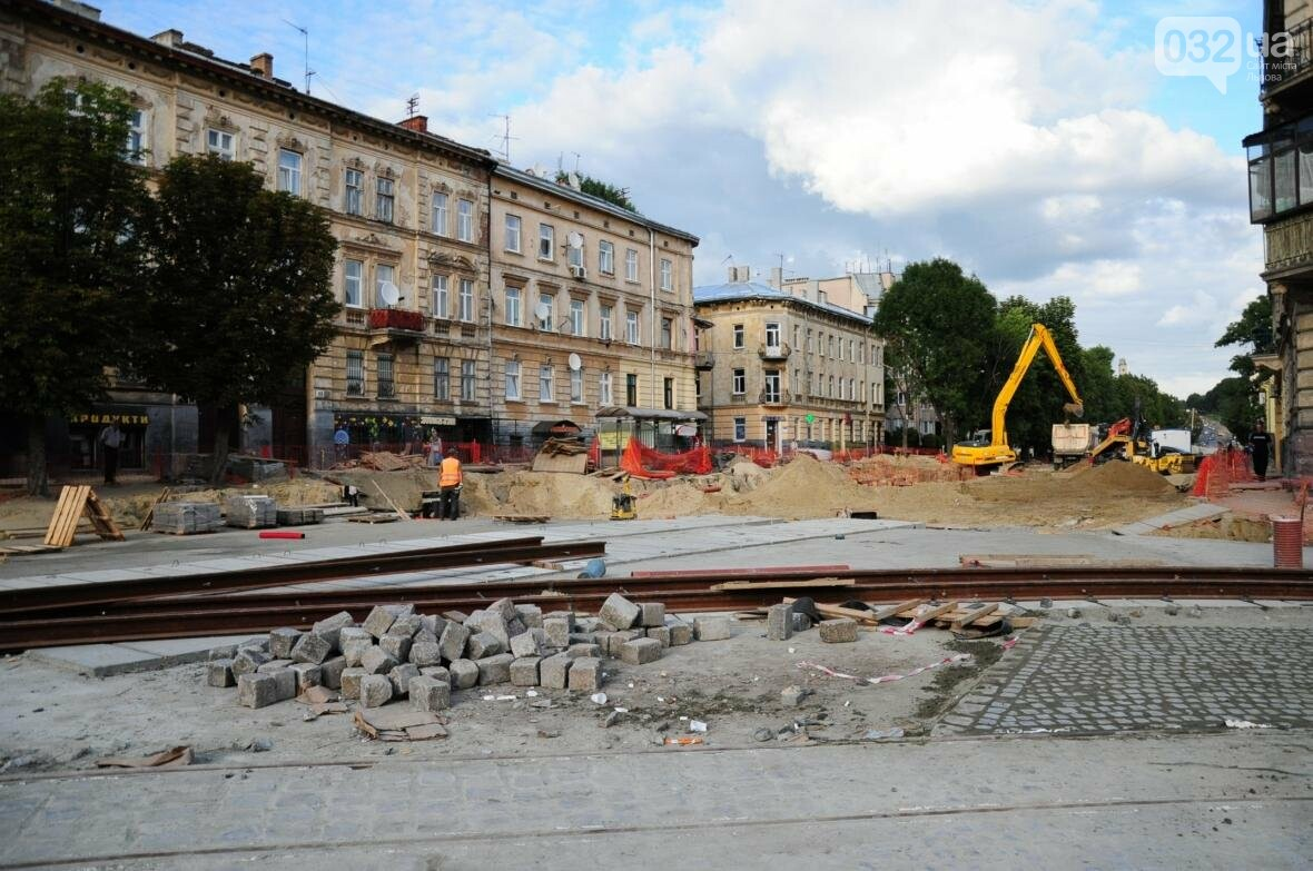 Як ремонтують перехрестя Личаківська — Мечникова (ФОТО), фото-6