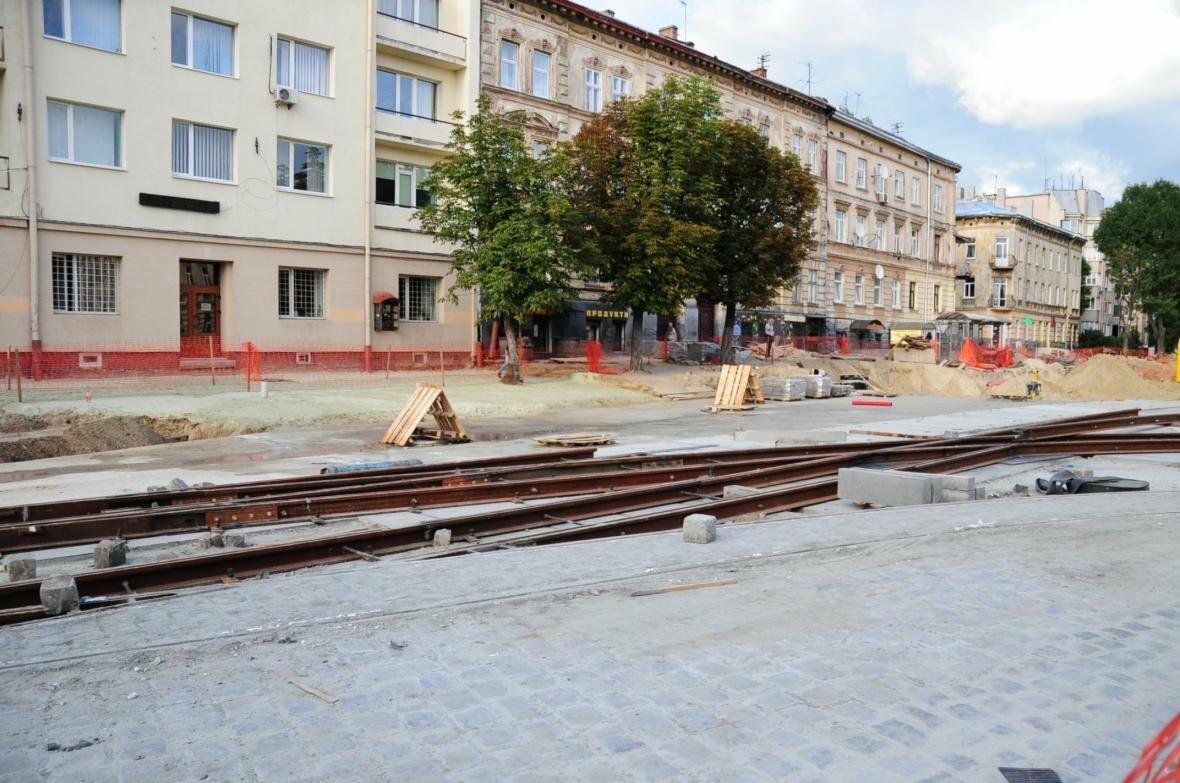 Як ремонтують перехрестя Личаківська — Мечникова (ФОТО), фото-7