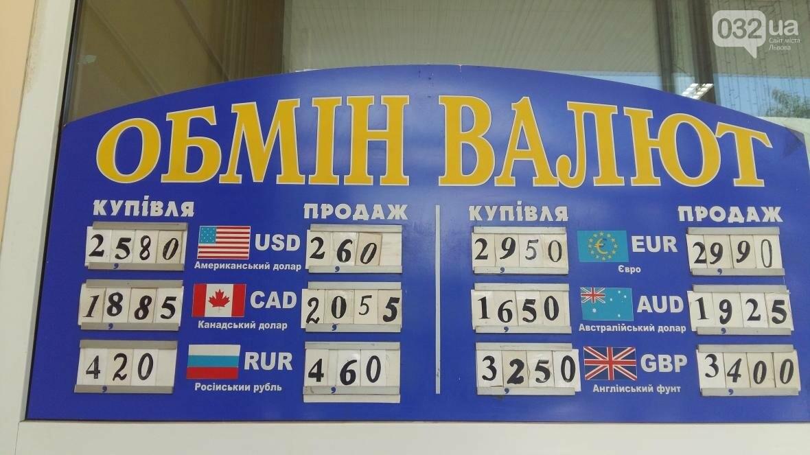 Скільки коштує долар та євро у Львові: актуальний курс валют станом на 19 липня (ФОТО), фото-1