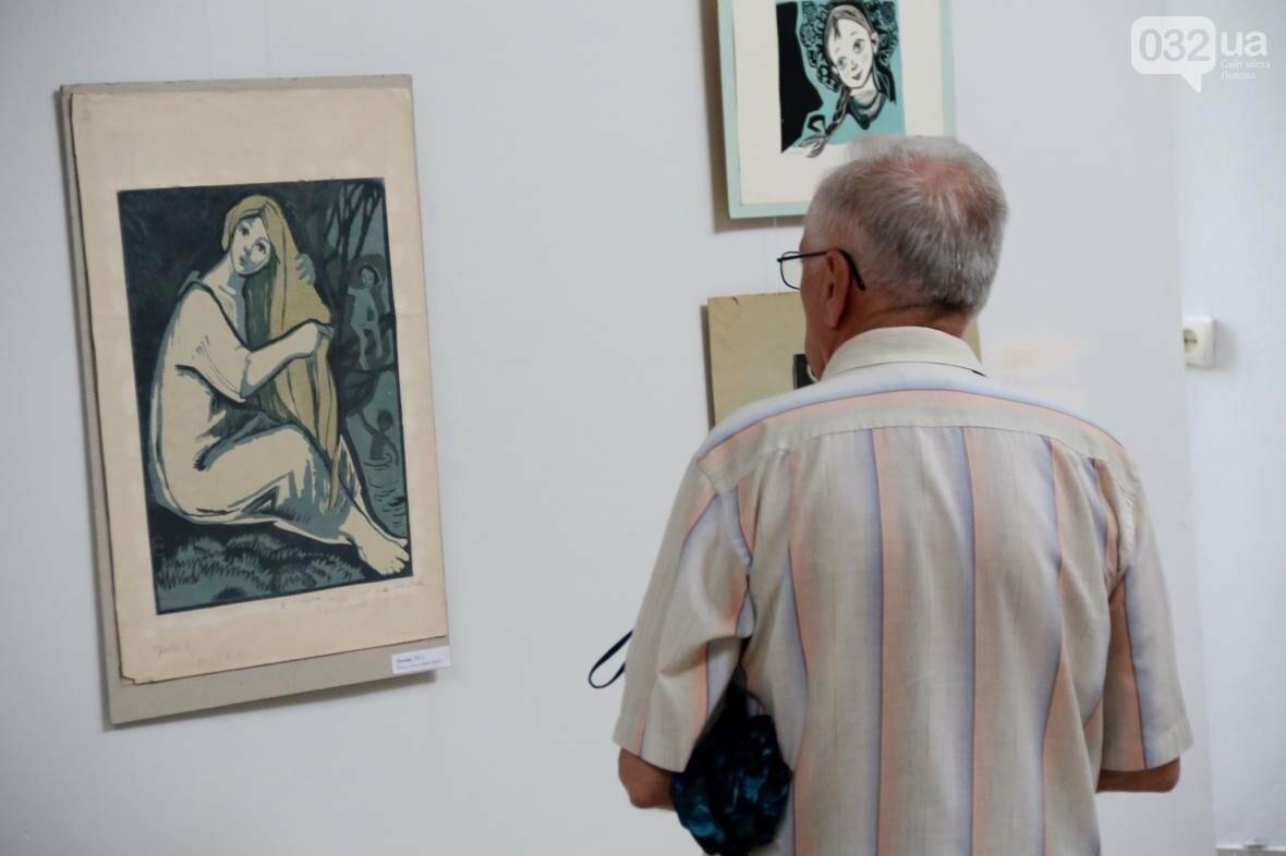 У Львові відкрили виставку робіт Софії Караффи-Корбут: фоторепортаж , фото-2