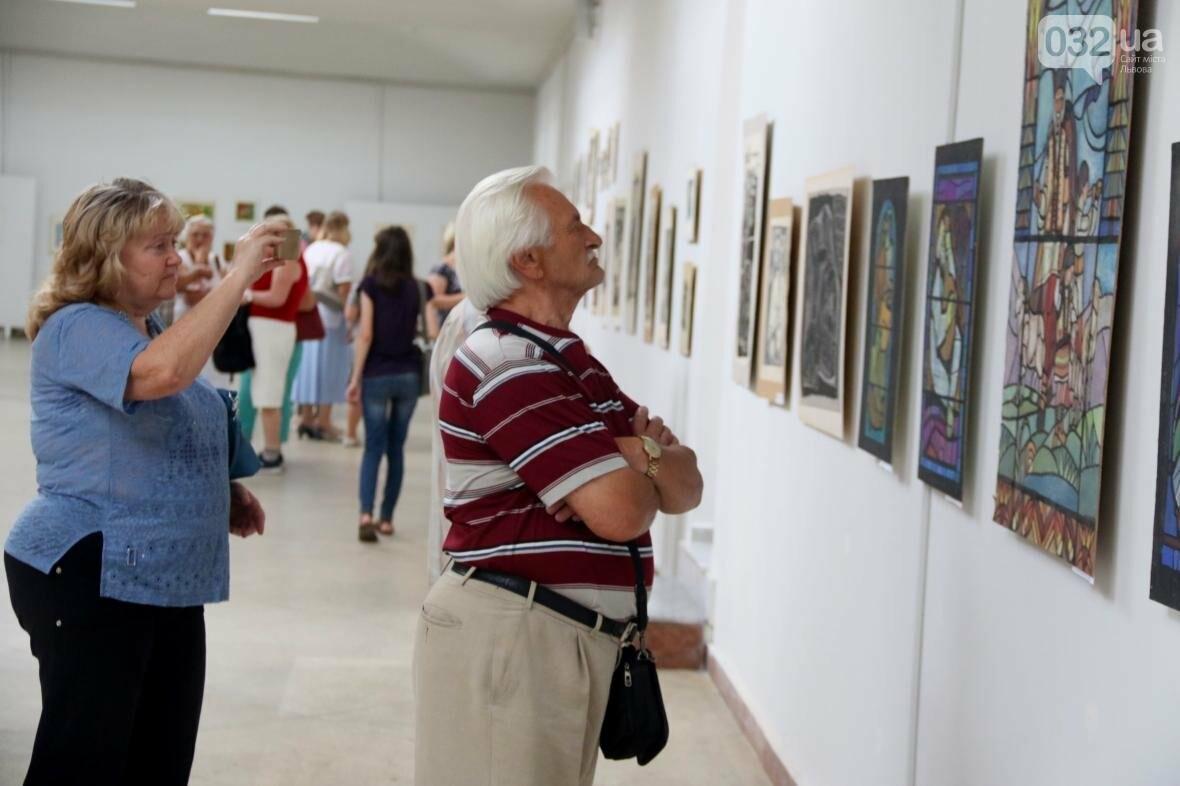 У Львові відкрили виставку робіт Софії Караффи-Корбут: фоторепортаж , фото-8