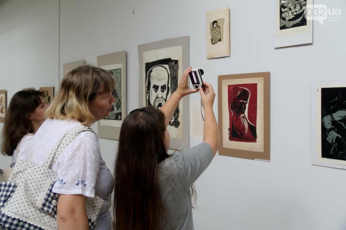 У Львові відкрили виставку робіт Софії Караффи-Корбут: фоторепортаж , фото-1