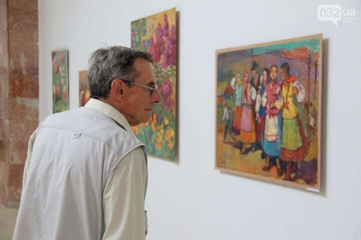 У Львові відкрили виставку робіт Софії Караффи-Корбут: фоторепортаж , фото-3