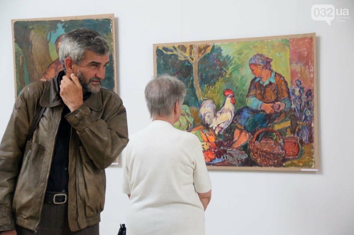 У Львові відкрили виставку робіт Софії Караффи-Корбут: фоторепортаж , фото-7