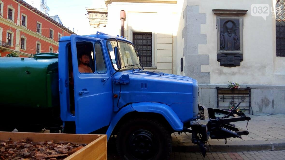 У центрі Львова висадили горщики з кленами (ФОТО), фото-2