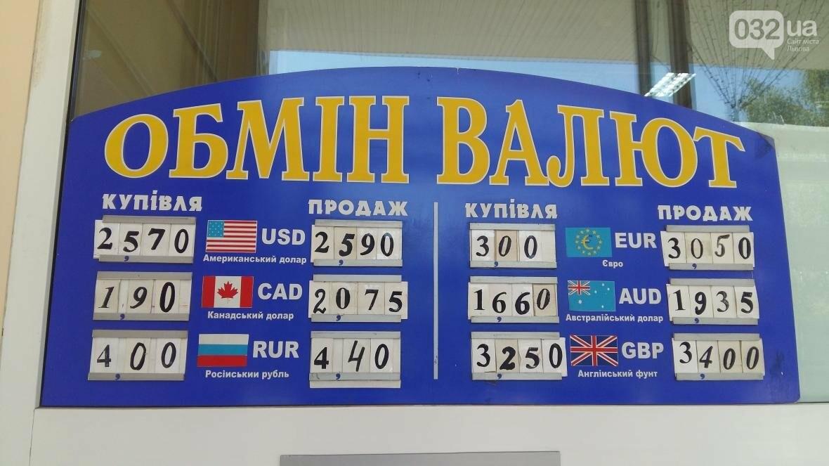 Скільки коштує долар та євро у Львові: актуальний курс валют станом на 2 серпня (ФОТО), фото-1