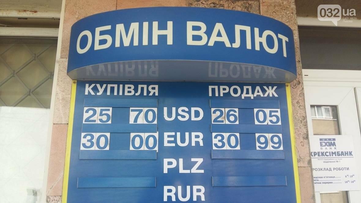 Скільки коштує долар та євро у Львові: актуальний курс валют станом на 4 серпня (ФОТО), фото-1
