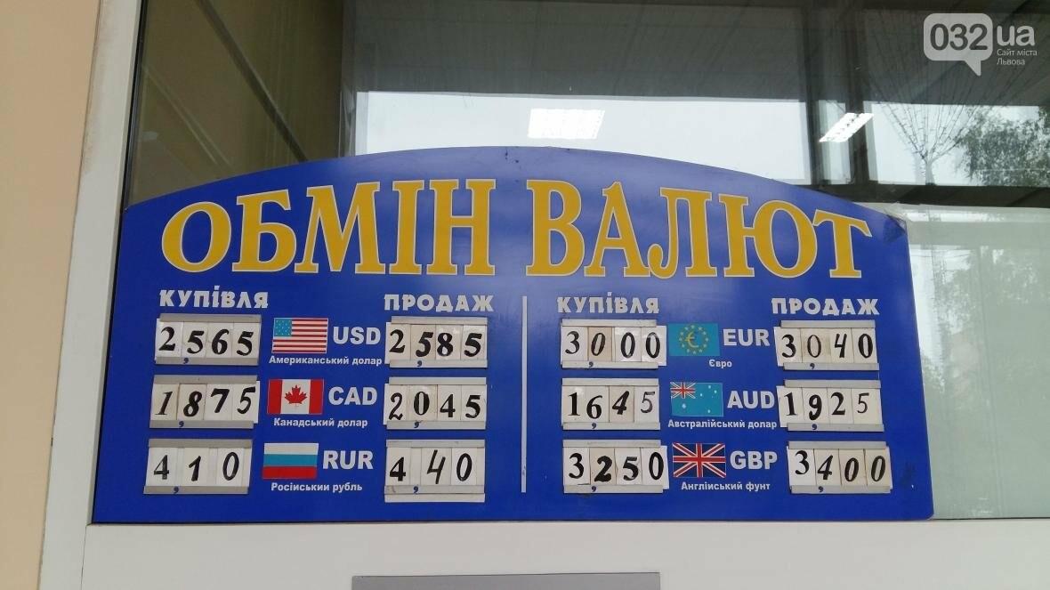 Скільки коштує долар та євро у Львові: актуальний курс валют станом на 7 серпня (ФОТО) , фото-1