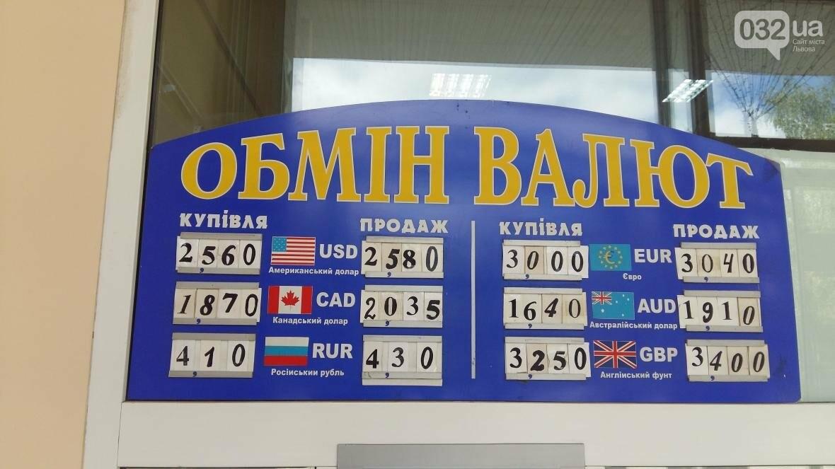 Скільки коштує долар та євро у Львові: актуальний курс валют станом на 8 серпня (ФОТО), фото-1