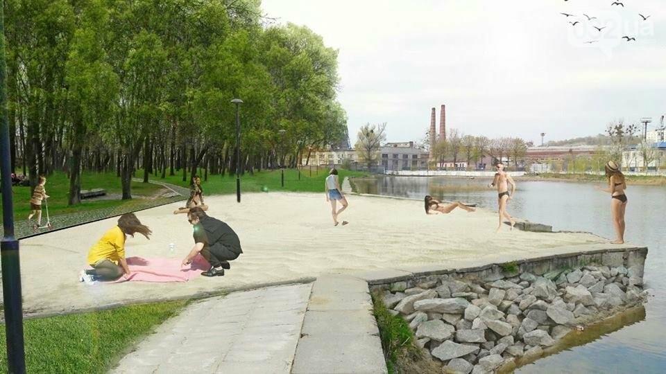 Незабаром у Львові покращать благоустрій навколо Левандівського озера, фото-1