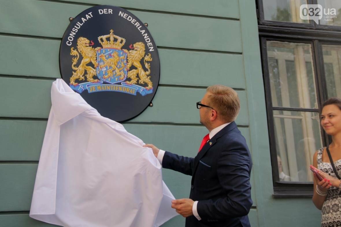 Як у Львові урочисто відновили роботу Почесного консульства Королівства Нідерландів: фоторепортаж, фото-4