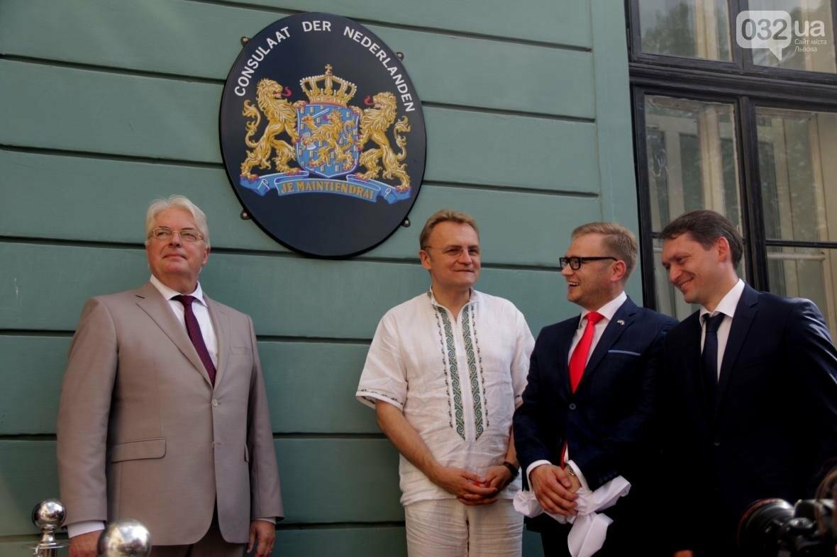 Як у Львові урочисто відновили роботу Почесного консульства Королівства Нідерландів: фоторепортаж, фото-6