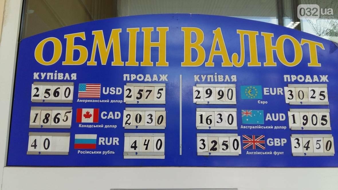 Скільки коштує долар та євро у Львові: актуальний курс валют станом на 14 серпня (ФОТО), фото-1