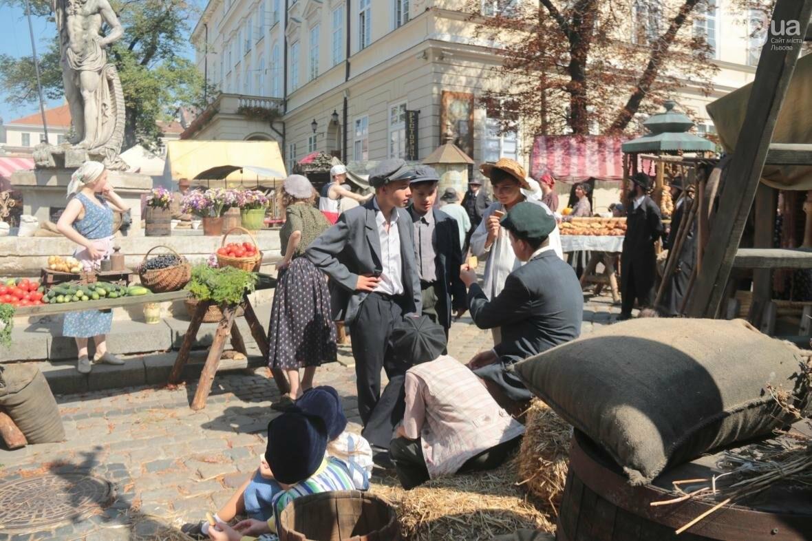 Як у центрі Львова кіно знімають: фоторепортаж , фото-10