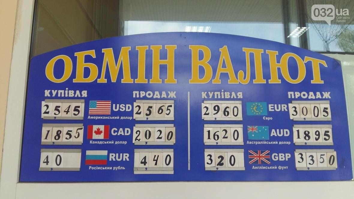 Скільки коштує долар та євро у Львові: актуальний курс валют станом на 18 серпня (ФОТО), фото-1