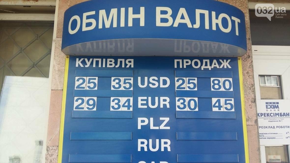 Скільки коштує долар та євро у Львові: актуальний курс валют станом на 18 серпня (ФОТО), фото-2
