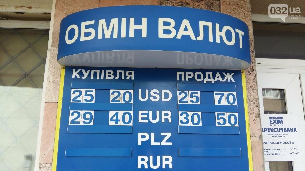 Скільки коштує долар та євро у Львові: актуальний курс валют станом на 21 серпня (ФОТО), фото-1