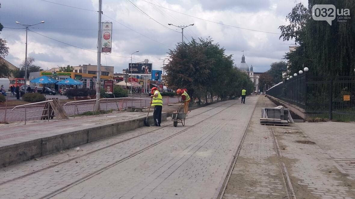 За два тижні у Львові відновлять трамвайний рух до головного залізничного вокзалу (ВІДЕО), фото-1
