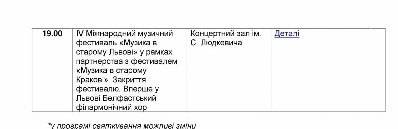Як у Львові відзначатимуть День Незалежності: оновлена програма заходів, фото-15