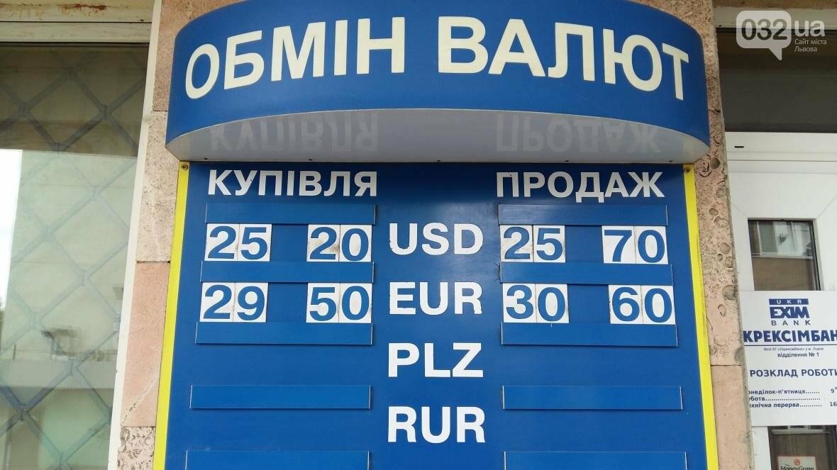 Скільки коштує долар та євро у Львові: актуальний курс валют станом на 23 серпня (ФОТО), фото-1