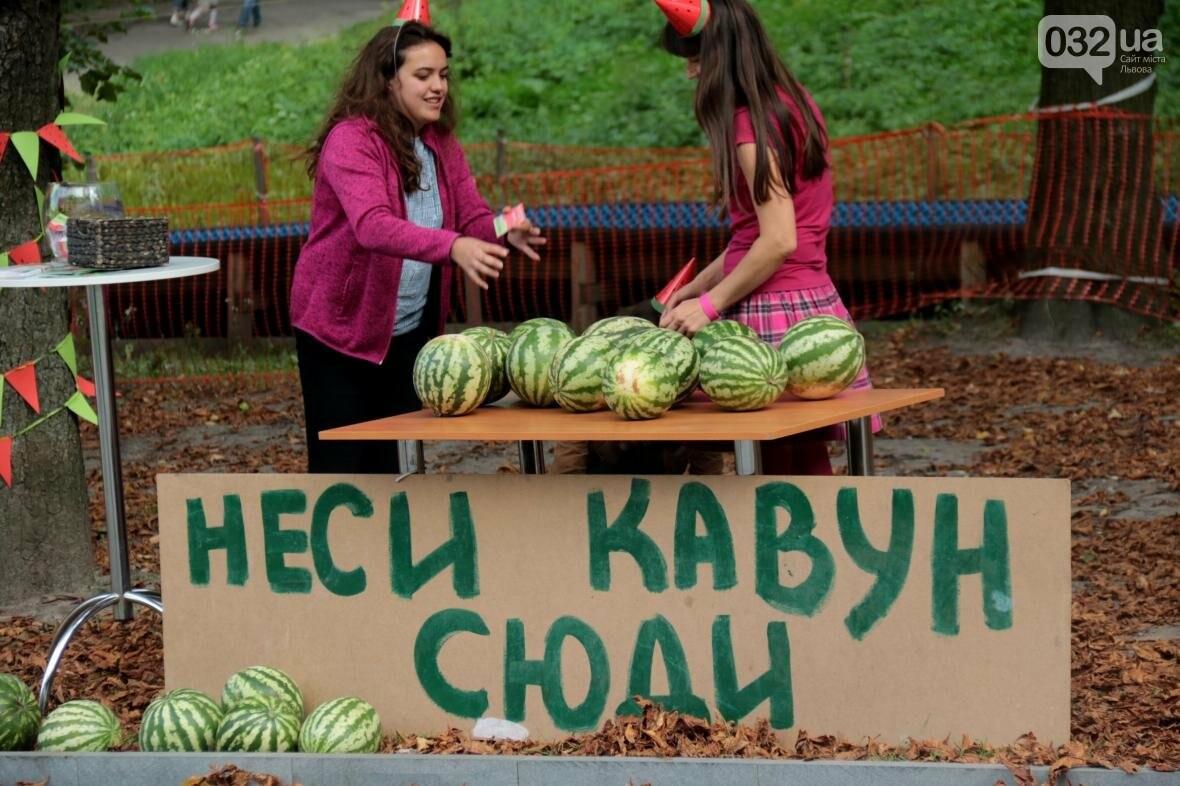 Перегони і поїдання кавунів на швидкість. Як у Львові відбувався фестиваль кавунів: фоторепортаж , фото-12