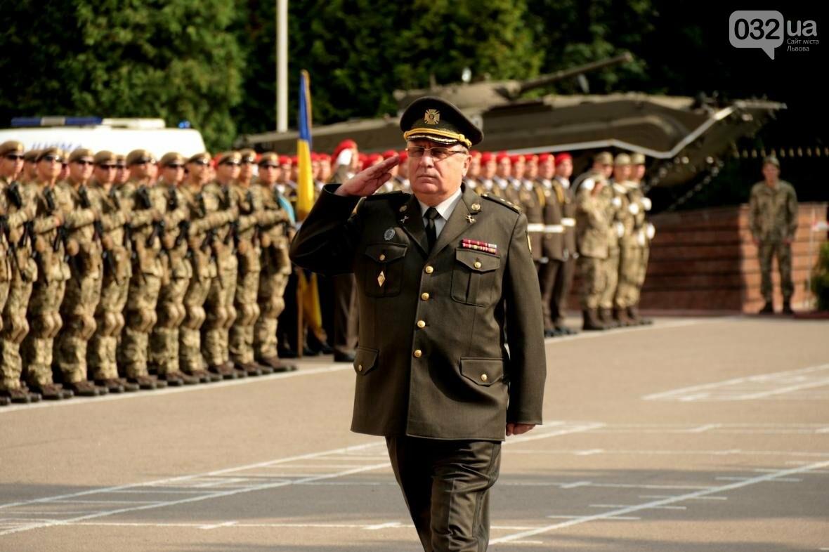 У Львові сотні курсантів Національної академії сухопутних військ присягли на вірність українському народові: фоторепортаж, фото-3