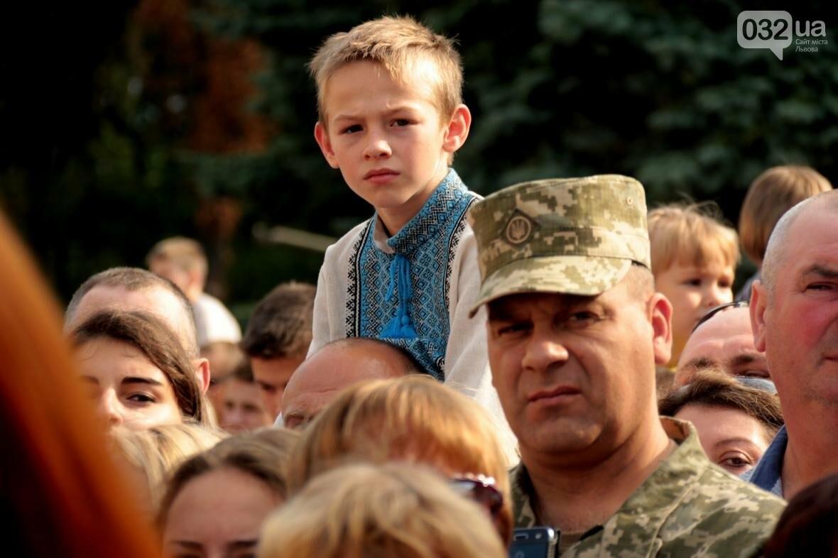 У Львові сотні курсантів Національної академії сухопутних військ присягли на вірність українському народові: фоторепортаж, фото-2