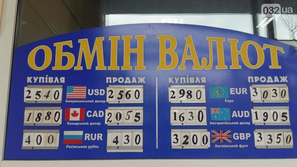 Скільки коштує долар та євро у Львові: актуальний курс валют станом на 28 серпня (ФОТО), фото-1