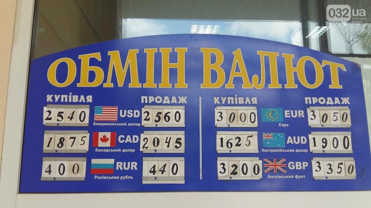Скільки коштує долар та євро у Львові: актуальний курс валют станом на 29 серпня (ФОТО), фото-1