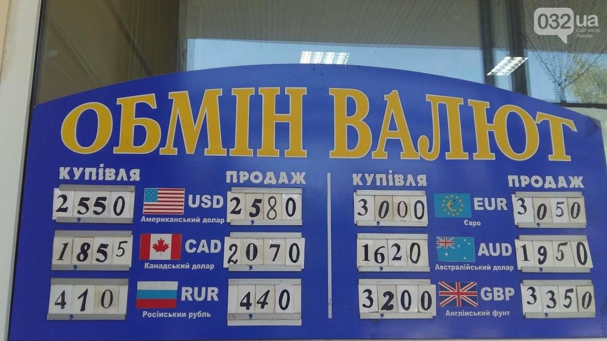 Скільки коштує долар та євро у Львові: актуальний курс валют станом на 31 серпня (ФОТО), фото-1