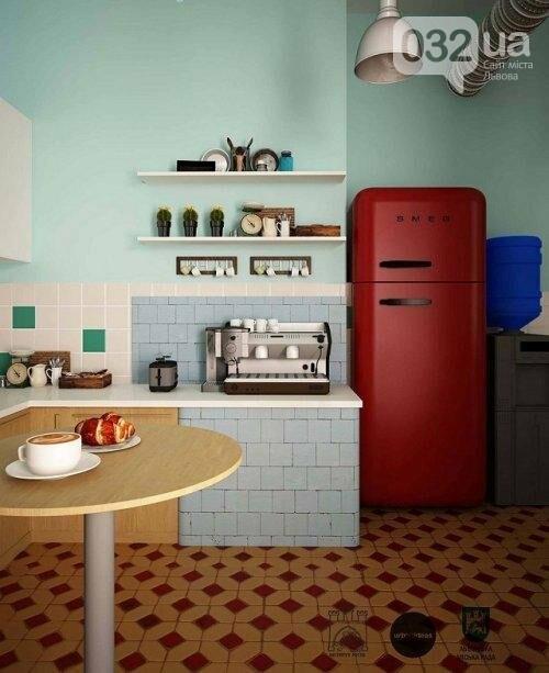 Вигляд кухні після ремонту, візуалізація UrbanIdeas