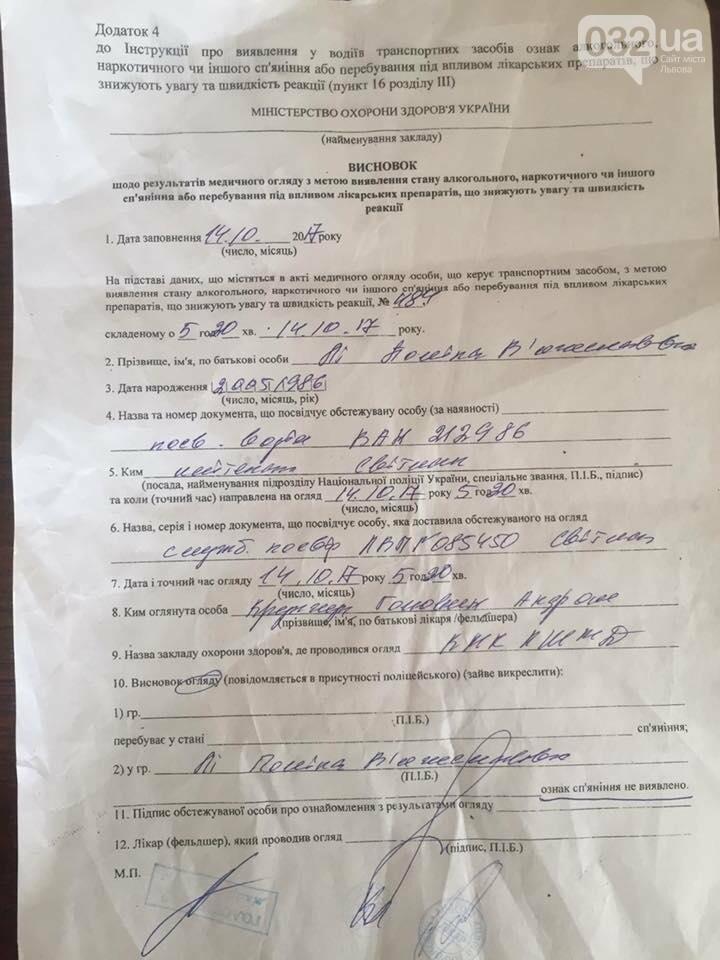 Посадовця Львівської ОДА звинуватили у керуванні автівкою напідпитку, фото-3