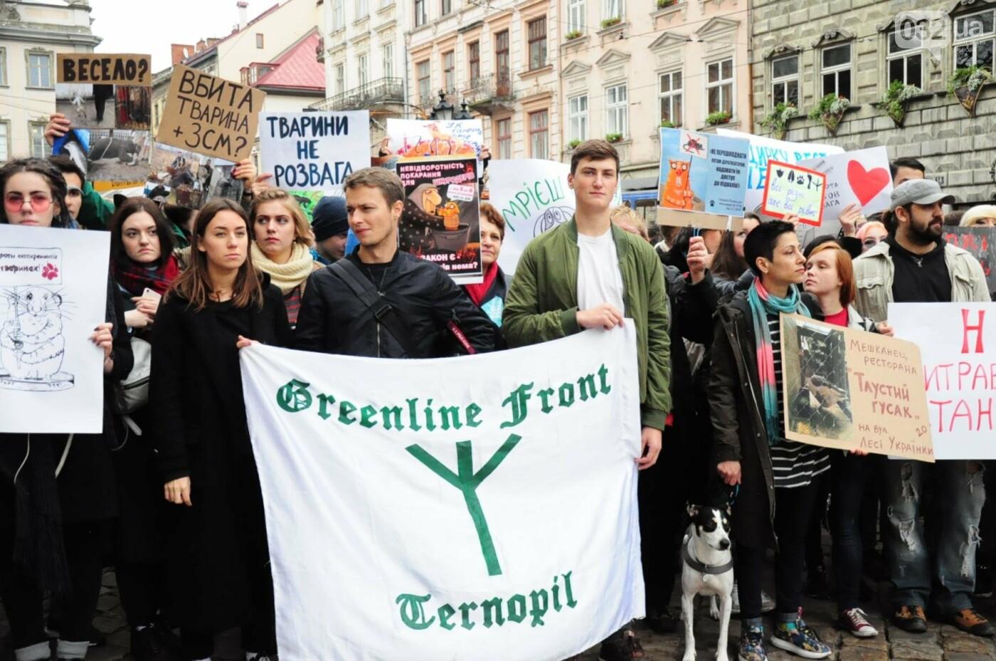Львів'яни взяли участь у масштабному Марші на захист тварин. Фоторепортаж, фото-30
