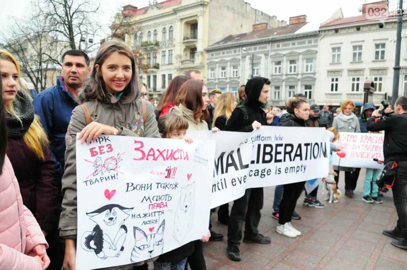 Львів'яни взяли участь у масштабному Марші на захист тварин. Фоторепортаж, фото-6